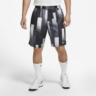 Nike Men's Printed Tennis Shorts NikeCourt Dri-FIT