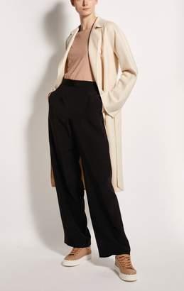 Kiton Zipped Wide-Leg Trousers