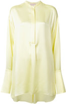 Roksanda mandarin neck shirt - women - Silk - 12