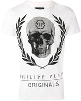 Philipp Plein ́Bone` T-shirt - men - Cotton - L