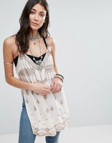 Free People Dancing Moonlight Print Tunic Singlet Top