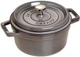 Staub 1102018 Round Cocotte Pot, 20 cm, Graphite Grey by