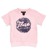 True Religion Short Sleeve Sweatshirt (Toddler & Little Girls)