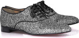 Fred glitter lace-up shoes