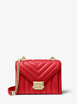 Michael Kors Whitney Small Quilted Leather Convertible Shoulder Bag