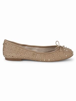 Sam Edelman Embellished Leather Ballet Flats