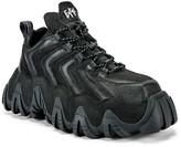 Eytys Halo Leather Sneaker in Black | FWRD
