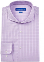 Vince Camuto Oxford Slim Fit Windowpane Dress Shirt