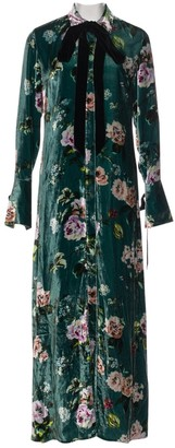 Olivia von Halle Multicolour Velvet Dresses
