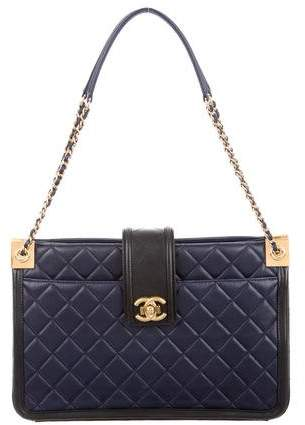 Chanel 2015 Quilted Elegant Tote