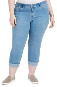 Style&Co. Style & Co Plus Size Cropped Skinny Jeans, Created for Macy's