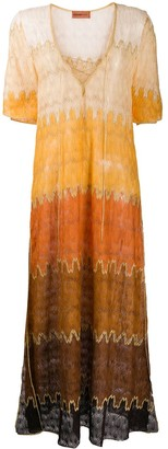 Missoni Mare Colour-Block Maxi Dress