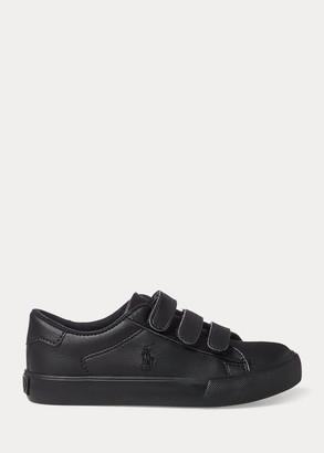 Ralph Lauren Easten Faux-Leather EZ Sneaker