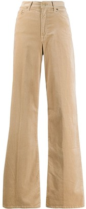 7 For All Mankind Wide-Leg Trousers