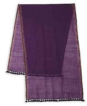 Eileen Fisher Women's Tassel Wool Shawl