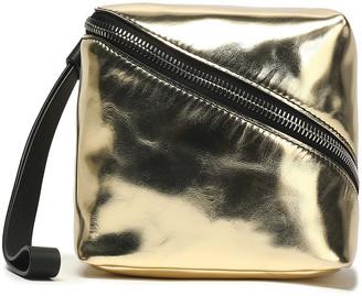 Proenza Schouler Metallic Leather Clutch