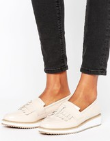 Missguided Tassel And Fringe Platform Shoe