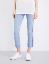 Diesel Belthy Ankle-C straight low-rise jeans