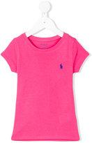 Ralph Lauren logo embroidered T-shirt