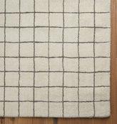 Rejuvenation Windowpane Wool Rug