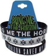 Bravado Bring Me The Horizon 3 Piece Saved My Life Silicone Wristbands
