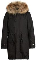 Valentino Detachable Fur-trimmed Hooded Parka