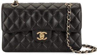 Chanel Pre Owned Double Flap chain shoulder bag