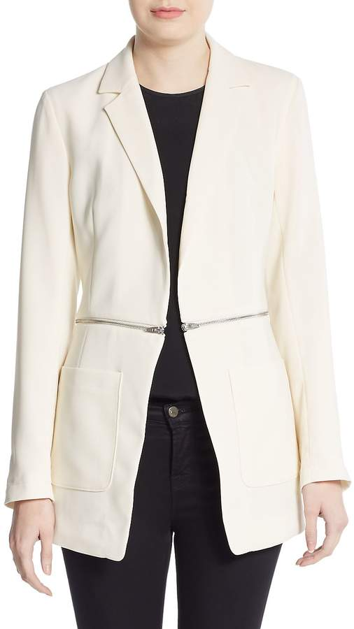 Alexander Wang Women's Zip-Detail Blazer