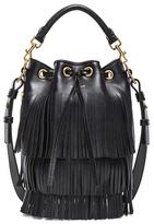 Saint Laurent Small Fringe Bucket Bag