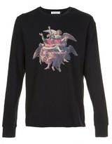 Undercover painting print sweatshirt