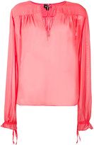 Just Cavalli peasant blouse - women - Viscose - 40