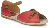 Kickers BIRDY Red / CAMEL