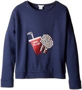 Little Marc Jacobs Fancy Milano Sweater Girl's Sweater