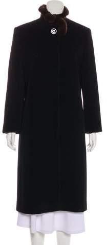 Cinzia Rocca Virgin Wool Long Coat