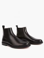 A.p.c. Black Elastique Chelsea Boots