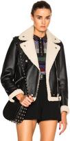 Coach 1941 Shearling Moto Jacket
