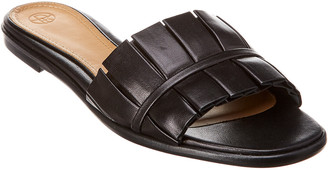 The Row Emma Leather Sandal