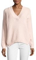 MiH Jeans Knit Cotton V-Neck Sweater