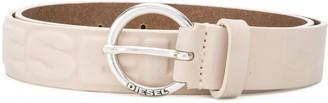 Diesel Logo-Embossed Belt