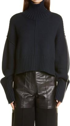 Peter Do Oversize Crop Sweater