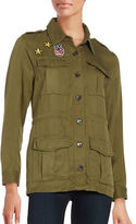 Honey Punch Patch Military Jacket