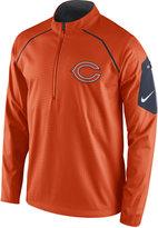 Nike Men's Chicago Bears Alpha Fly Rush Quarter-Zip Jacket