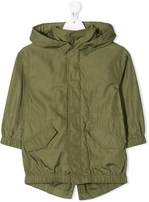 Zadig & Voltaire Kids Parkaki hooded jacket