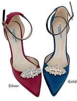 Casualfashion Jewelry Casualfashion Fashion Decorative Silver / Crystal Rhinestone Shoes Clutch Dress Hat Shoe Clips 2 Pcs