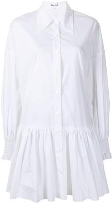 Enfold Ruffle-Hem Shirt