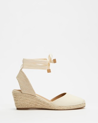 Spurr Women's Neutrals Heels - Ingrid Wedges - Size 5 at The Iconic