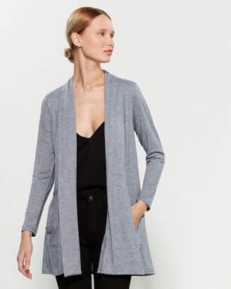 Femme By Tresics Long Sleeve Shawl Collar Duster Cardigan