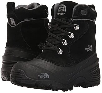 The North Face Kids Chilkat Lace II (Toddler/Little Kid/Big Kid) (TNF Black/Zinc Grey) Boys Shoes