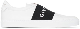 Givenchy white Urban Street slip-on leather sneakers