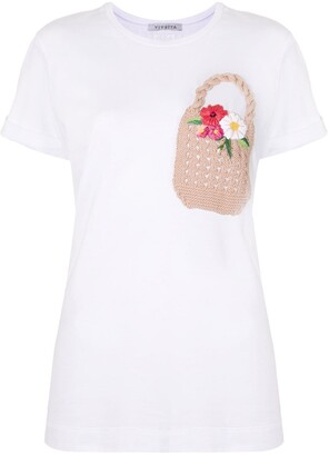 VIVETTA embroidered T-shirt